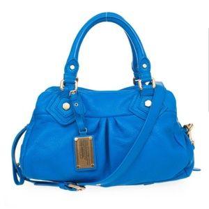 Marc by Marc Jacobs electric blue shoulder bag